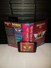 Mighty in Sonic the Hedgehog 1 Game for Sega Genesis! Cart & Box