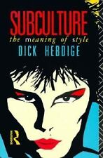 Subculture: The Meaning of Style (New Accents), Dick Hebdige, Acceptable Book