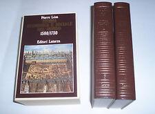 Difficolta dello sviluppo 1580-1730 PIERRE LEON storia economica e sociale mondo