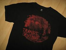 Three Days Grace Tee - 2012 Transit Of Venus Concert Tour Black T Shirt Medium