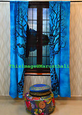 Indian Tree of Life Door Cutain Cotton Hippie Tapestry Decor Window Curtains Art