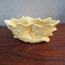 McCoy Yellow Cornucopia Planter