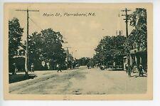 Parrsboro Nova Scotia - Main Street - Antique Postcard ca. 1925