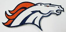LOT OF (1) NFL DENVER BRONCOS HORSEHEAD EMBROIDERED PATCH IRON-ON (TYPE A)  # 21
