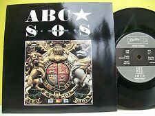 "7"" VINYL SINGLE. S.O.S. b/w United Kingdom by ABC. 1983. Neutron Records. NT 106"