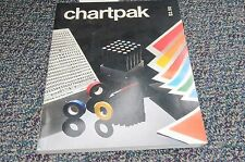1984 Chartpak Typographic Typography Art Lithography Font Line Graphics Catalog