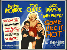 """Some Like It Hot  Movie Poster Replica 11x14"""" Photo Print"""