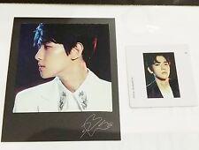 Baekhyun Polaroid&Mount Photo card set exoplanet #3 concert Official goods exact