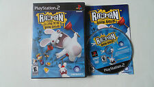 Rayman Raving Rabbids (Sony PlayStation 2, 2006) ps2 complete