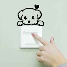 Home Decor Removable Wall Sticker Paper Art Mural Decal Cute Puppy Dog Bedroom