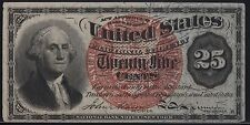 Fr1303 4Th Issue 25¢ Fractional Currency Xf+ Br5605