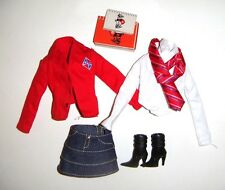 Barbie Fashion Fever Ensemble School Uniforms For Barbie Doll fn332
