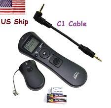 Jintu WIRLESS Timer Shutter Remote Control for Canon Rebel 1000D 450D 400D 350D