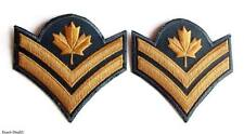CANADA Canadian Army Pair Obsolete Garrison Dress Master Corporal  Rank Insignia