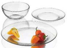 Libbey Glass 12pc Clear Glass Moderno Dinnerware Set