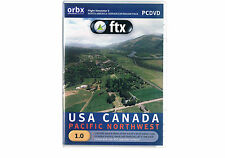Flight Simulator X orbx USA Canada Pacific Northwest