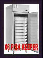MERCATUS X6 STAINLESS STEEL FISH KEEPER REFRIGERATOR @ £1415+Vat & FREE DELIVERY