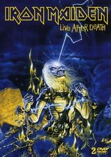 "IRON MAIDEN ""LIVE AFTER DEATH"" 2 DVD NEW+"