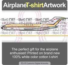 T-shirt for CAT Civil Air Transport Boeing 727 Fans