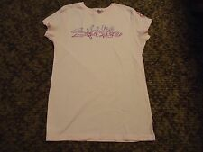New Without Tags Ladies Soft PINK  Salt glo SALT LIFE S/S T-Shirt size  Small