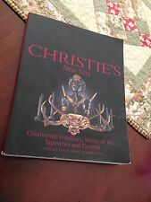 """""""Christie's New York"""" Auction Book March 29th-30th 2001"""