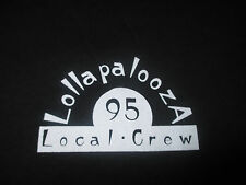 1995 LOLLAPALOOZA Local CREW Concert (XL) T-Shirt The Mighty Mighty Bosstones