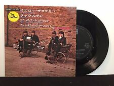 """The Beatles - Yellow Submarine on Odeon EAS-30011 7"""" EP Japanese Import"""
