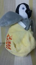 Happy Feet Egg with baby Mumble penguin inside Soft Toy Comforter