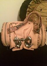 Betsey Johnson Rolled Pillow Shape Bag