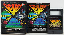 COSMIC CONFLICT (1978) MAGNAVOX ODYSSEY 2 GAME w/ BOX, MANUAL **COMPLETE**