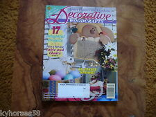 Better Homes And Gardens Decorative Woodcrafts Magazine April 1997