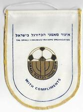 ISRAEL FOOTBALL COACHES & TRAINERS ORGANIZATION OFFICIAL SMALL PENNANT OLD