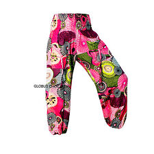 Gypsy Hippie Aladdin Hmong Baggy Genie Harem Pants Men Women Hammer Trousers A**