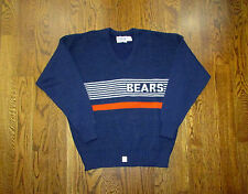 Chicago Bears Sweater XL Cliff Engle Football NFL Ditka Payton Era Never Worn