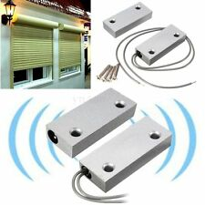 Metal Door Contact Magnetic Reed Switch Alarm Roller Shutter Store Security