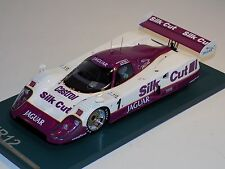 1/18 AB Models Jaguar XJR12 1990 24 Hours of LeMans Car #1