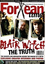 Fortean Times #128 November 1999 Blair Witch Falun Gong Philadelphia Experiment
