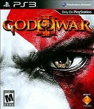 God of War III (Sony PlayStation 3, 2010) ps3 game rated mature blue ray
