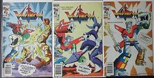 VOLTRON #1,2,3 Full Set! by Modern 1984 Canadian Price Variants! Hot! Netflix