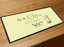 Gin O'clock Bar runner bar a casa counter tappetino Pub Mazze & Cocktail Bar