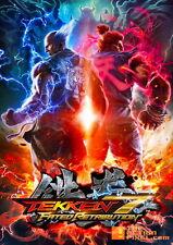 "YX00815 Tekken - Manga Xbox 360 Video Game 14""x20"" Poster"