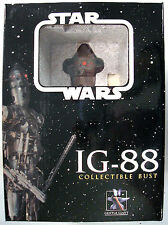 Star Wars IG-88 MINI BUST Statue GENTLE GIANT 2004 MINT/SEALED Bounty Hunter