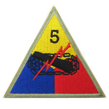 US Army 5th Armored VICTORY DIVISION BADGE - WW2 Repro American Military Patch