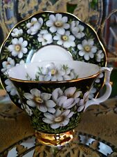 Royal Albert bone china Provincial Series MOUNTAIN AVENS cup and saucer