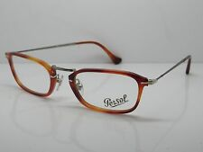 New Authentic PERSOL 3044-V 96 REFLEX Terra di Siena Eyeglasses 50mm