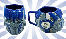 Transformers Optimus Prime Face Universal Studios Blue Large Ceramic Coffee Mug
