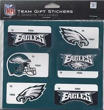 Philadelphia Eagles Christmas Present Name Labels - Team Gift Stickers - To/From