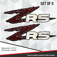 ZR5 ZR-5 4x4 VINYL DECAL STICKER S-10 EXTREME Sonoma ZR-2 S10 SA0220