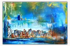 New York Abstrakt Modern Art Original Gemälde Malerei Painting 60x80