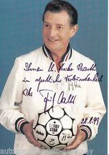 Fritz Walter (+2002) DFB Weltmeister 1954 TOP AK Original Signiert +A29042
